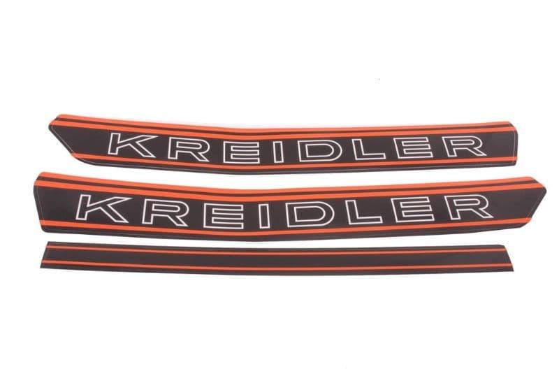 040070 : Kreidler Tankstickerset Oranje