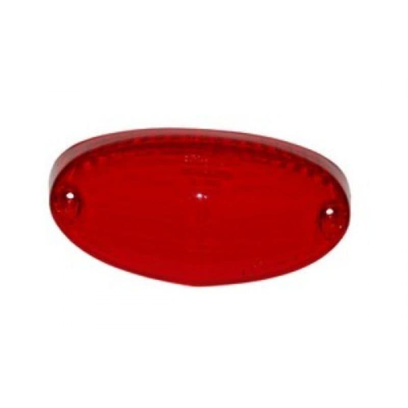 Achterlichtglas Ludix Rood