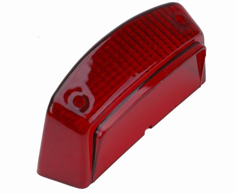 Achterlichtglas Slider Rood