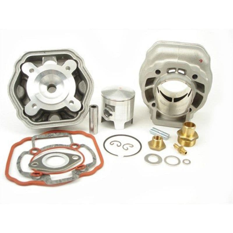 Cilinder + Kop Airsal   Piaggio Lc (5-Hoekig)