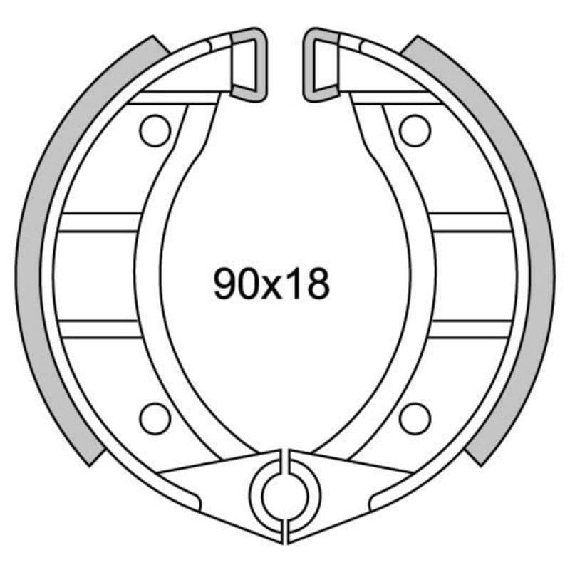 Remsegmenten New Fren Gf0151