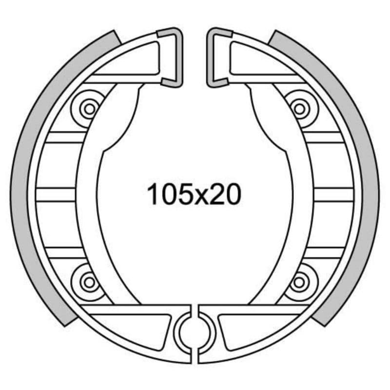 Remsegmenten New Fren Gf0152