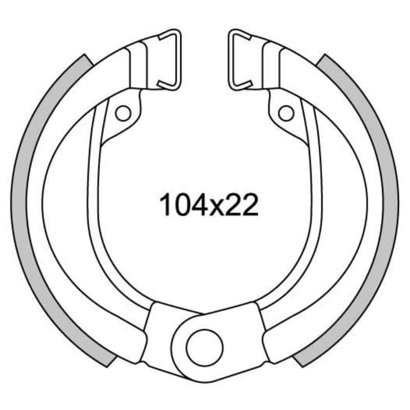 Remsegmenten New Fren Gf0245