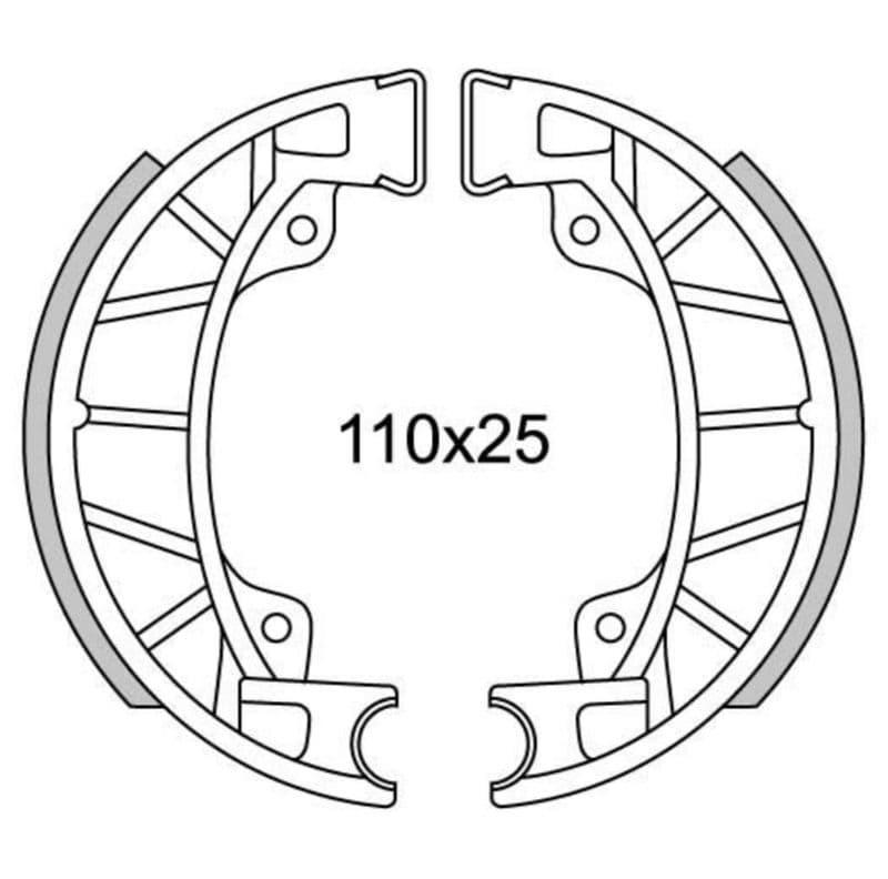 Remsegmenten New Fren Gf0251
