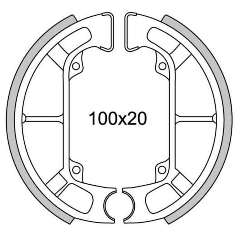 Remsegmenten New Fren Gf0252