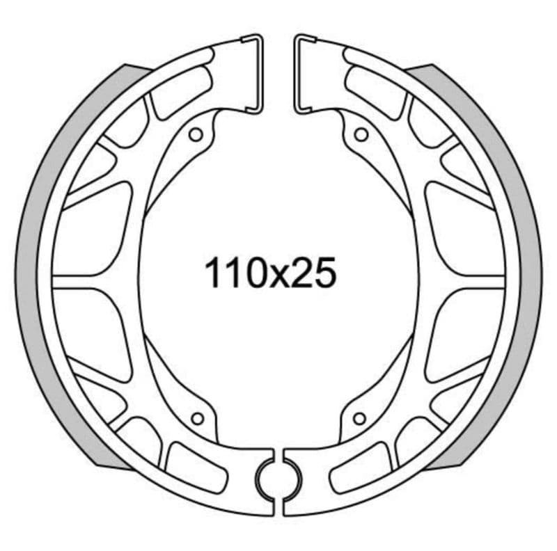 Remsegmenten New Fren Gf0255