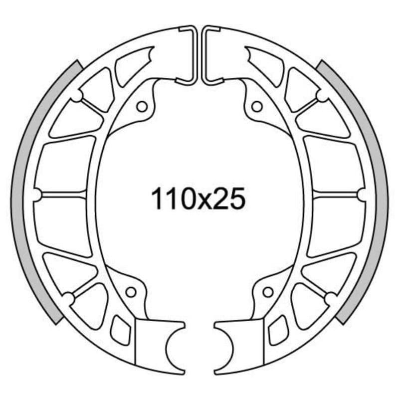 Remsegmenten New Fren Gf0261
