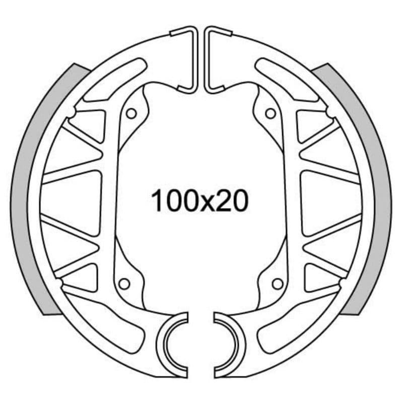 Remsegmenten New Fren Gf0263