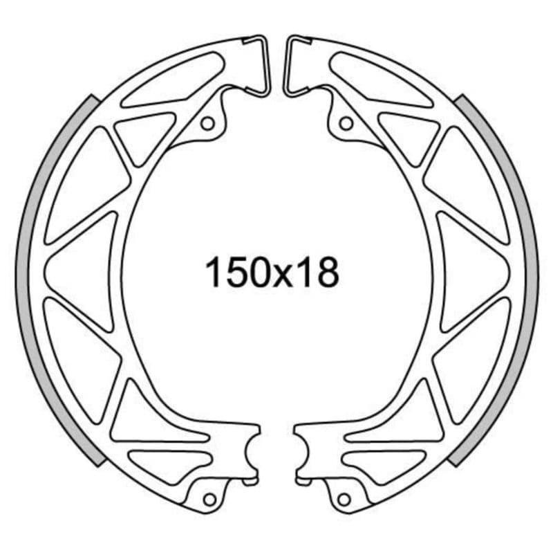 Remsegmenten New Fren Gf0265