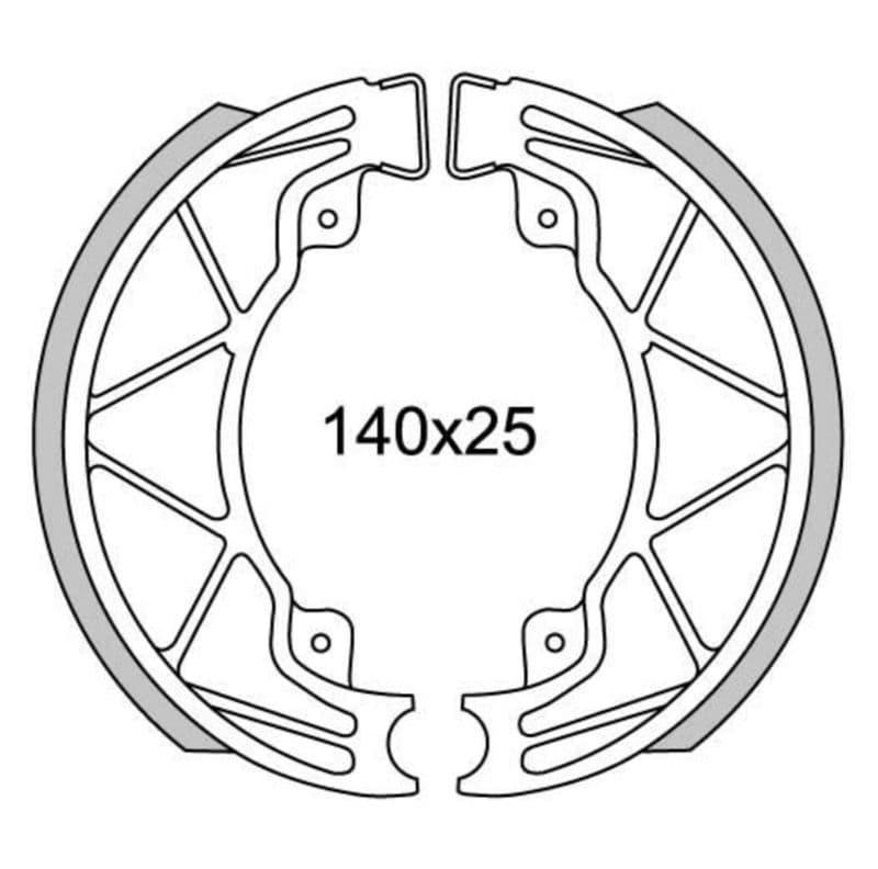 Remsegmenten New Fren Gf0268