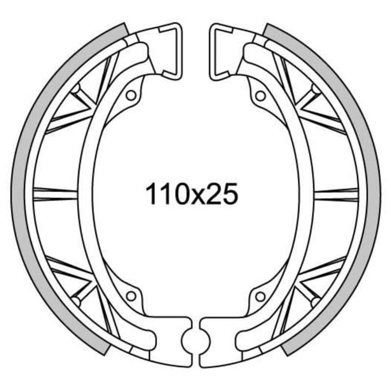 Remsegmenten New Fren Gf1043