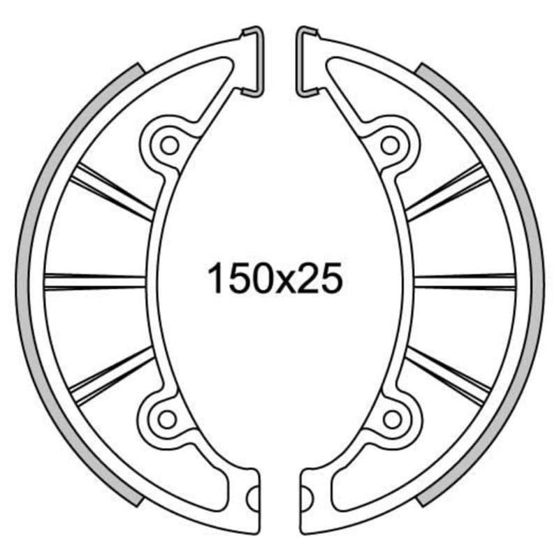 Remsegmenten New Fren Gf1084
