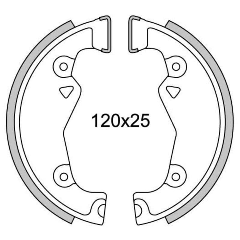 Remsegmenten New Fren Gf1088