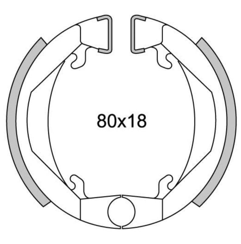 Remsegmenten New Fren Gf1143