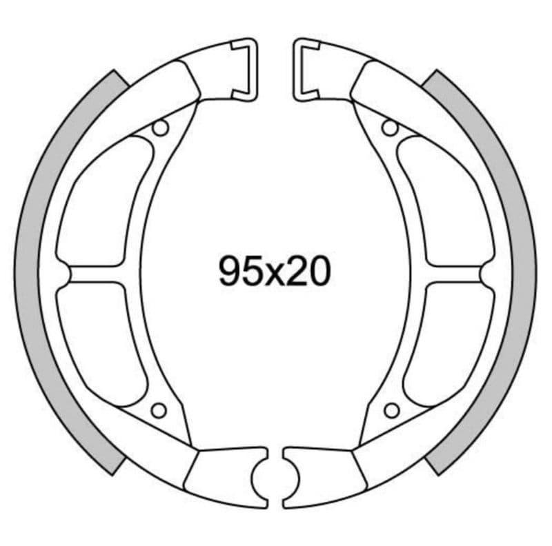 Remsegmenten New Fren Gf1217