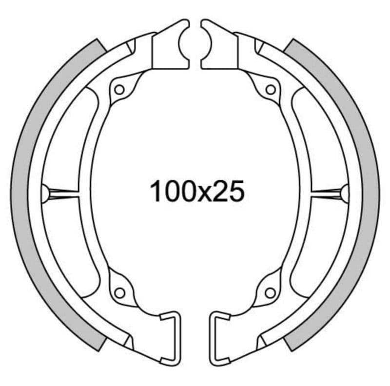 Remsegmenten New Fren Gf1220