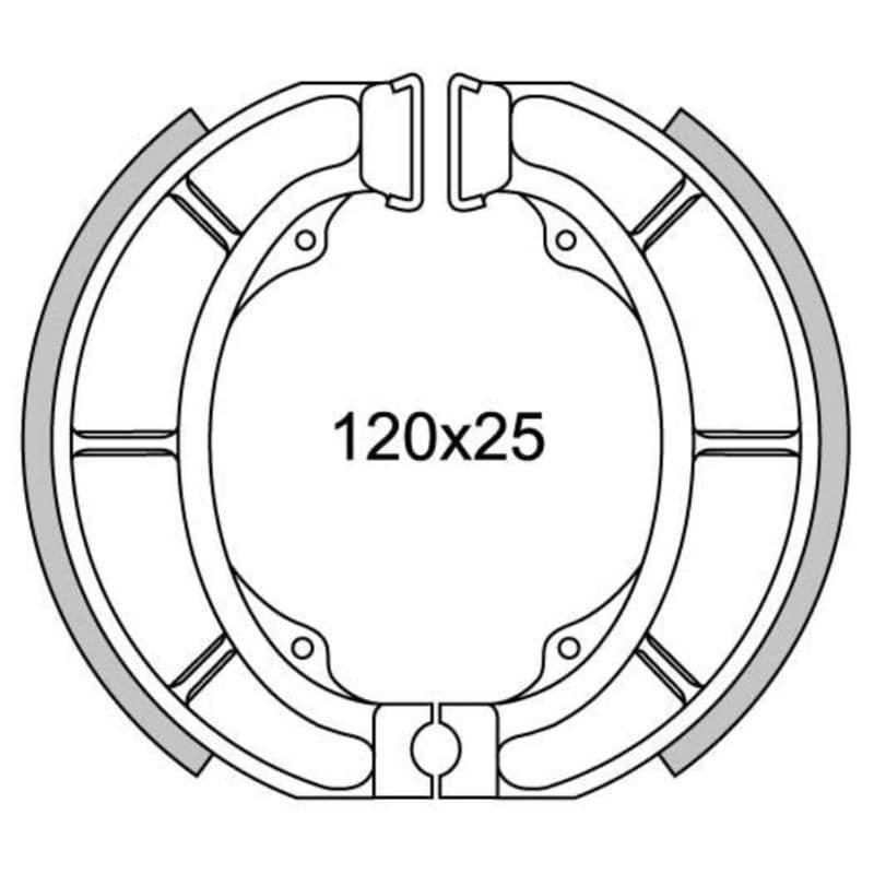 Remsegmenten New Fren Gf1233