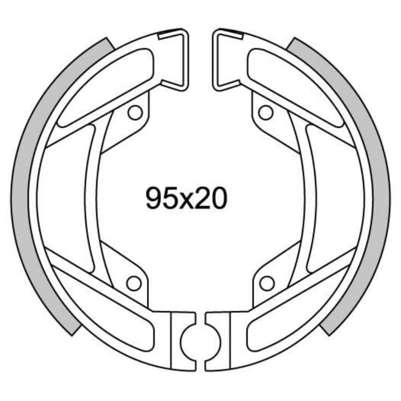 Remsegmenten New Fren Gf1246