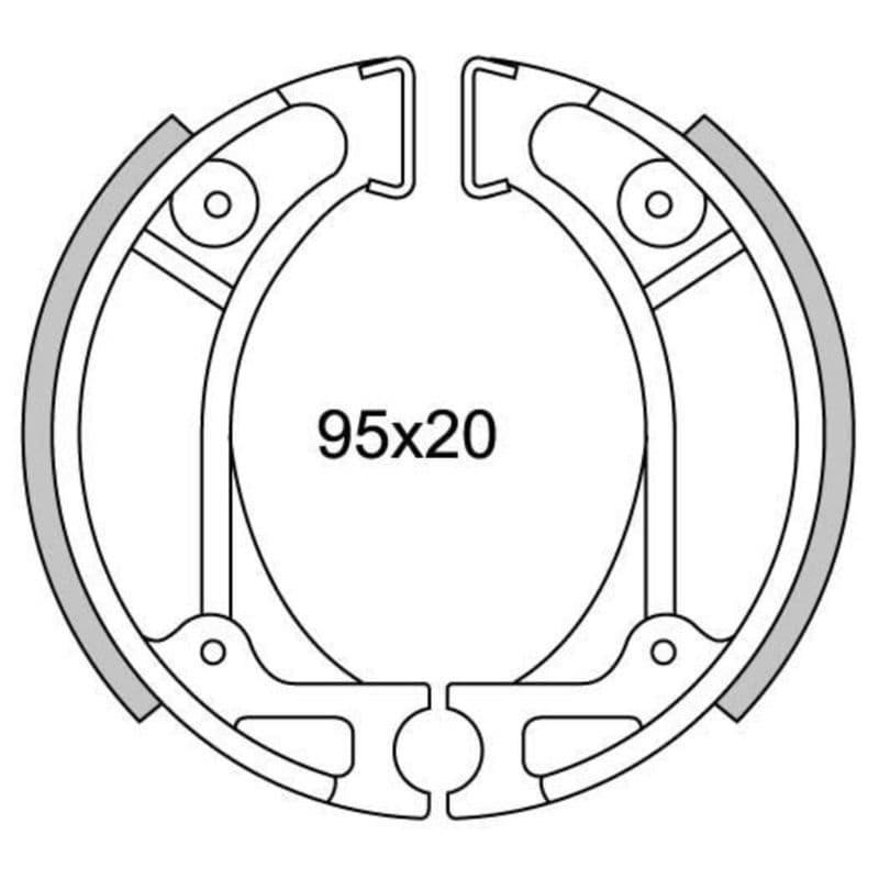 Remsegmenten New Fren Gf1248