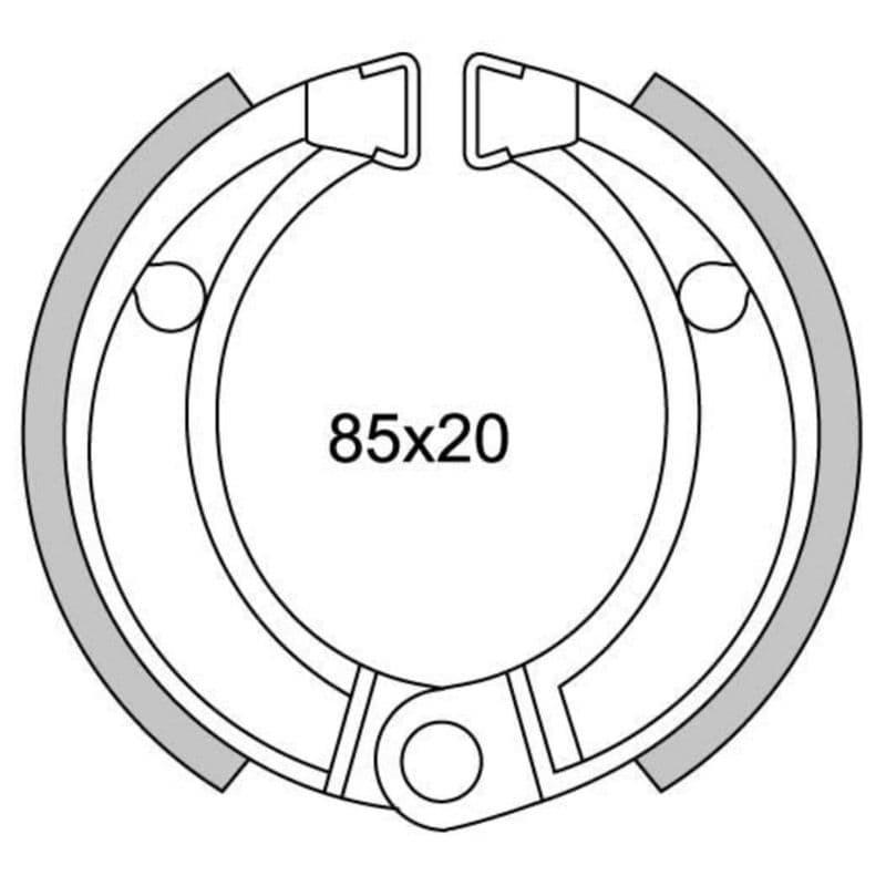 Remsegmenten New Fren Gf1253