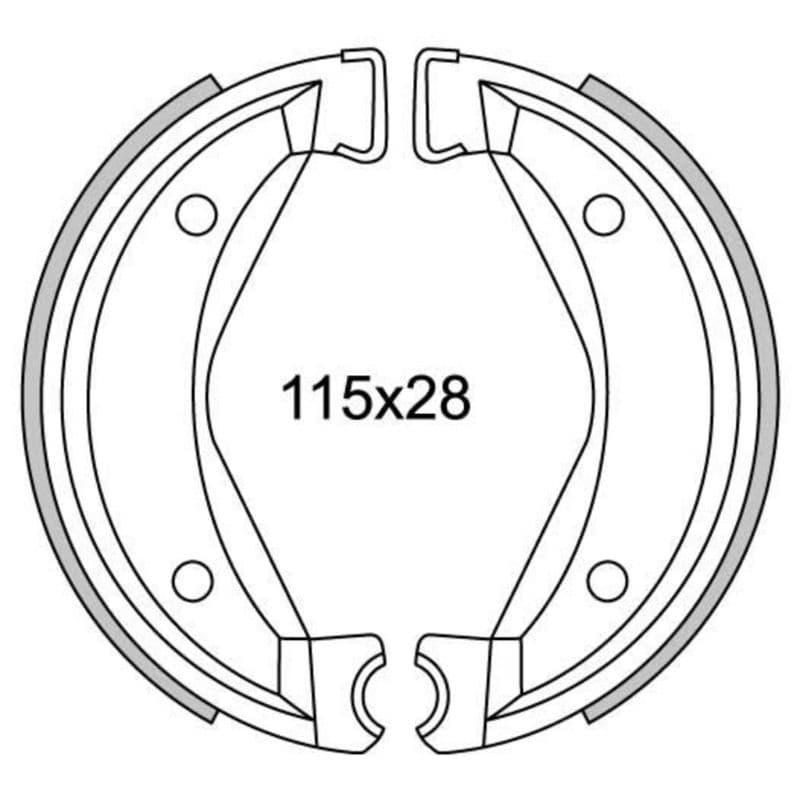 Remsegmenten New Fren Gf1295