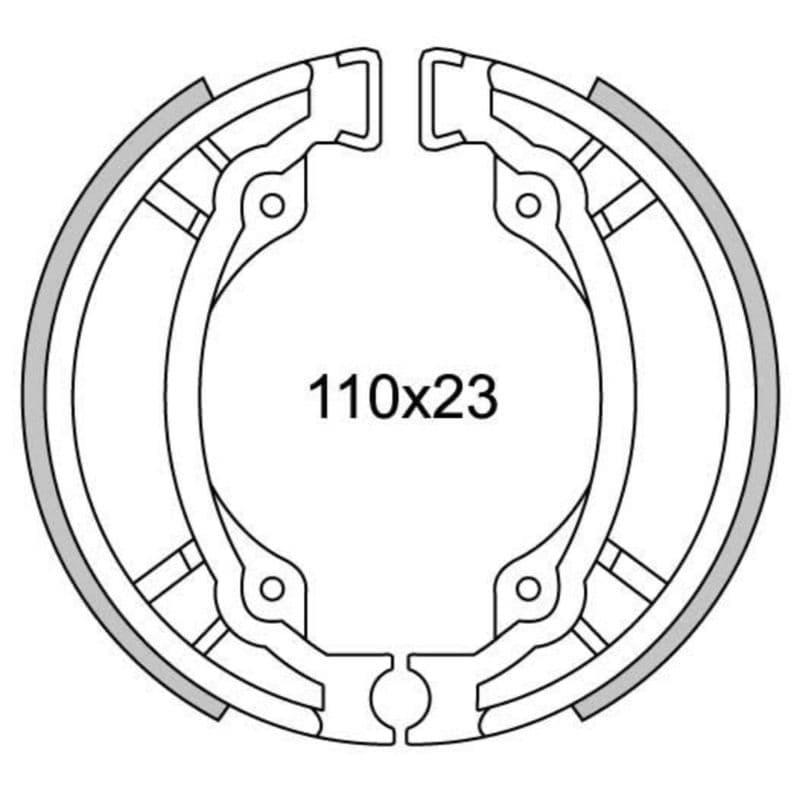 Remsegmenten New Fren Gf1300