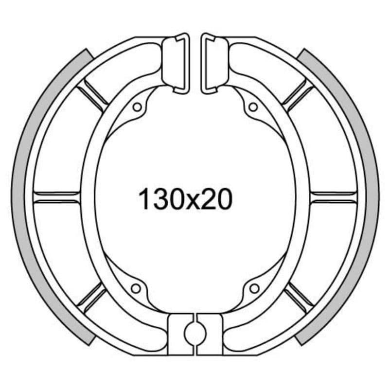 Remsegmenten New Fren Gf1308