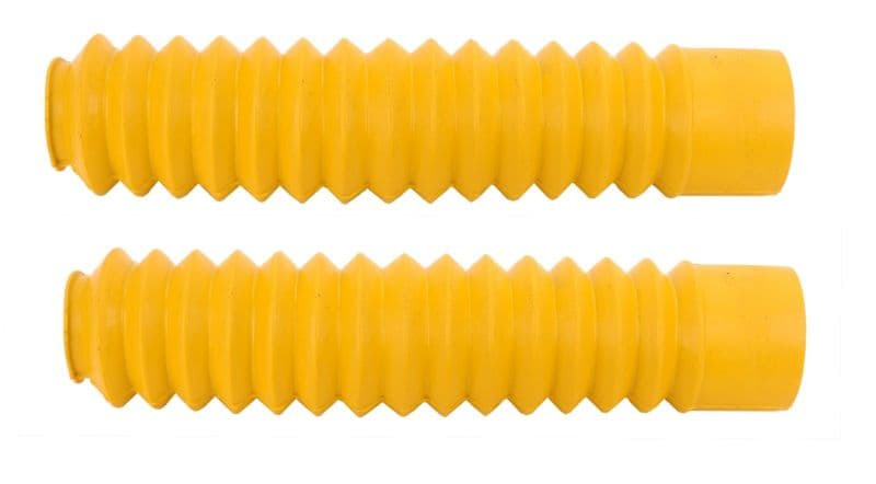 Voorvorkrubbers Geel Kort | Honda Mt