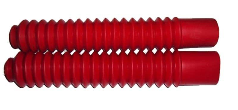 Voorvorkrubbers Rood | Honda Mt