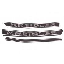 040060 : Kreidler Tankstickerset Zwart-Wit