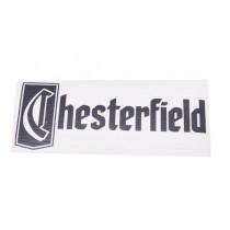 98.072239 Sticker Chesterfield 15Cm Zwart