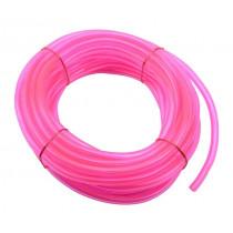 Benzineslang 5X8 Day Glow Pink 10Mtr.