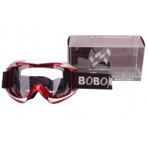 Crossbril Race Bobotech Rood