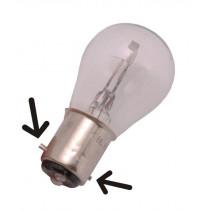 Lamp 6V - 15/15W Bax15D