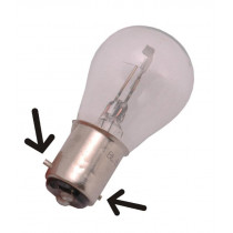 Lamp Bosma 6V - 20/20W Bax15D
