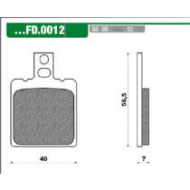 Remblokset New Fren Fd0012