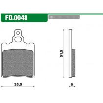 Remblokset New Fren Fd0048