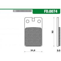 Remblokset New Fren Fd0074