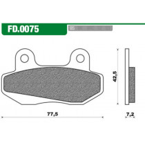 Remblokset New Fren Fd0075