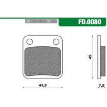 Remblokset New Fren Fd0080